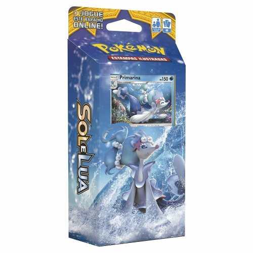 Deck Pokemon Maré Brilhante Sol E Lua Primarina
