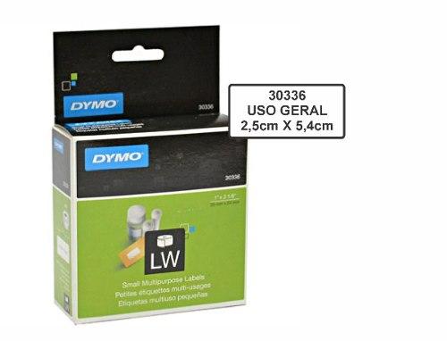 Etiqueta p/ impressora térmica LabelWriter 25mmx54mm 1 Rolo C/500 un. 30336 Dymo