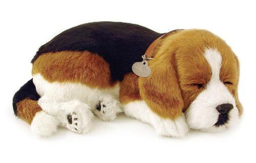 Beagle Cachorro de Pelúcia que Respira Filhote Perfect Petzzz
