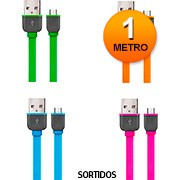 Cabo Micro Usb V8 Para 5 Pinos Smartgo Colors Multilaser