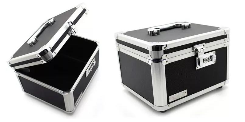 Caixa Organizadora Para 14 Cases Dvd C/ Segredo numérico Vaultz - 803109