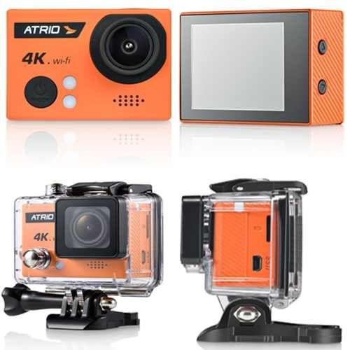 Câmera Esportiva Atrio Fullsport Cam 4K 16MP Wifi Controle Remoto Multilaser Dc185