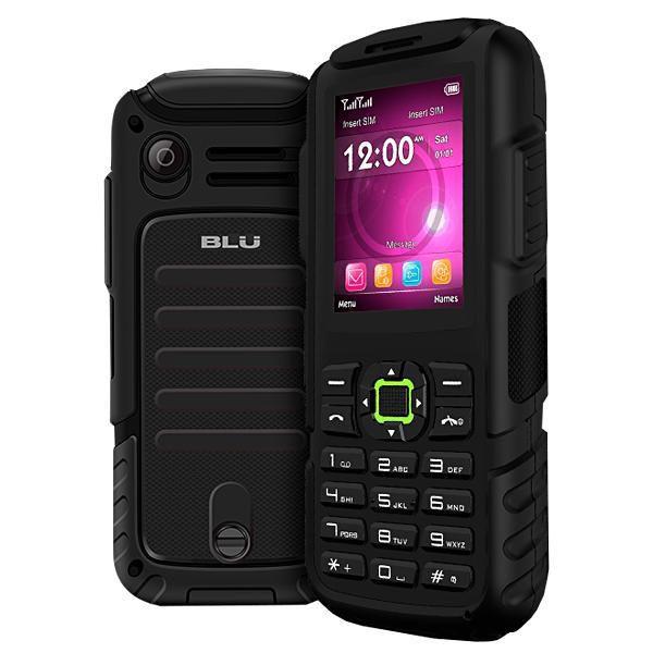 "Celular Blu Tank Mega Dual Sim T570 DS 2.4"" Bat 3600MAH Preto/Verde"