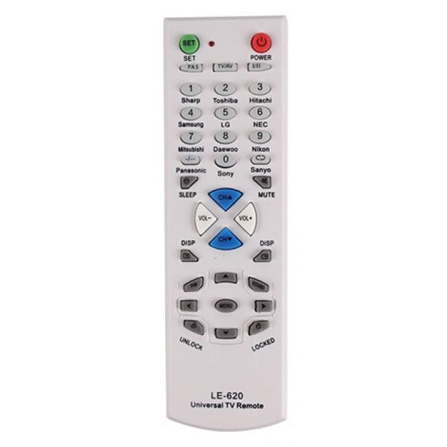 Controle Remoto Universal para TVs Antigas Tubo LE-620