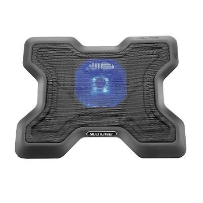 Cooler Para Notebook Stand Metal Com 2 Usb Multilaser AC123