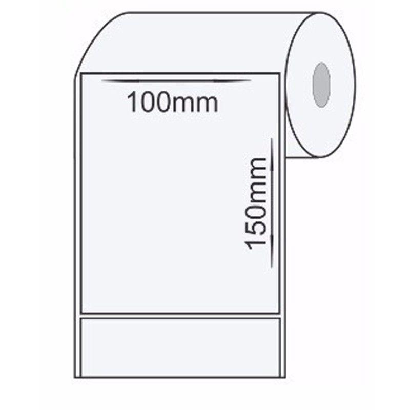 Etiqueta P/ Impressora Térmica 100x150mm 1 Rolo C/250 un