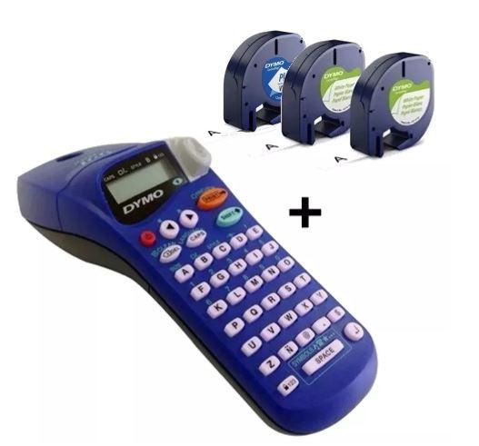 Etiquetador Eletrônico Dymo Letratag + 3 Fitas