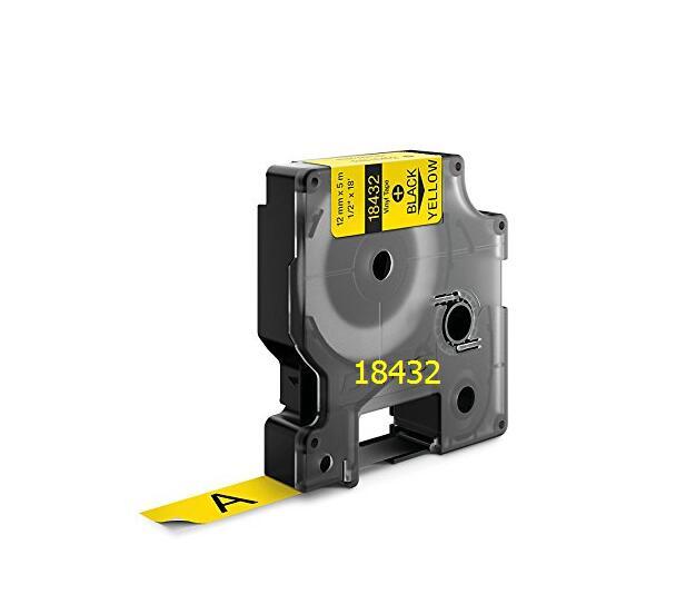 Fita de Vinil 3M Rhino Dymo Para Rotulador e impressora portátil 12mmx5,5m