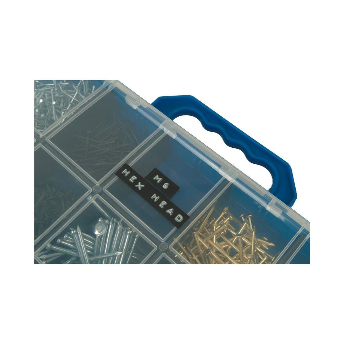 Fita  Vinilica p/ Rotulador Manual 9mmx3m blister c/3un Sortidas 1741671 Dymo
