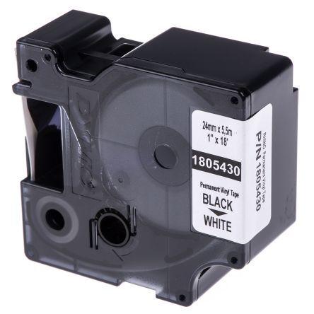FITA VINIL PVC DYMO P/ ROTULADOR RHINO 3M 24MM X 5,5M PT.BR