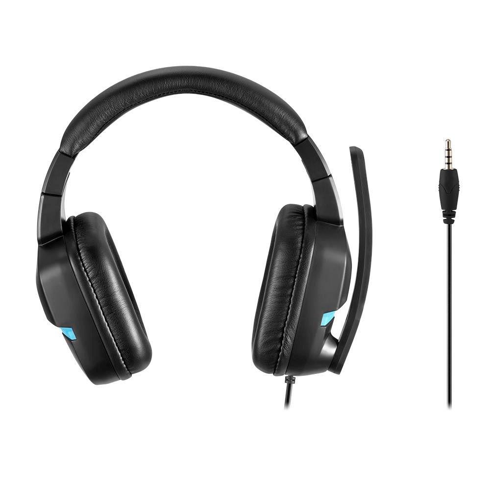 Fone de Ouvido Headset Gamer Askari P3 PS4 Azul Warrior Multilaser PH292