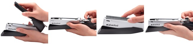 Grampeador Semi Automático Paperpro grampeia até 20 folhas 1104