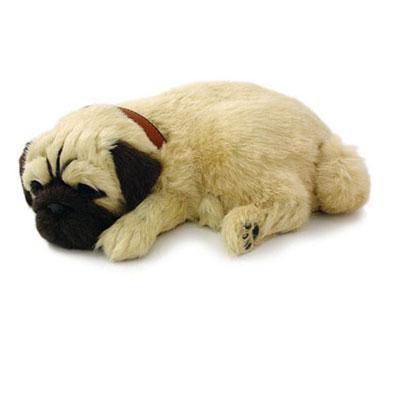 Pug Cachorro de Pelúcia que Respira Filhote Perfect Petzzz