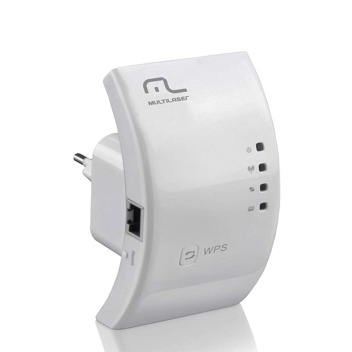 Roteador Repetidor Multilaser Wireless 300mbps Wps - RE051