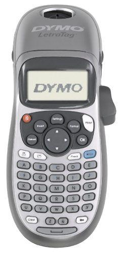 Rotulador Eletrônico Dymo LT100H com 2 Fitas Transparente e papel