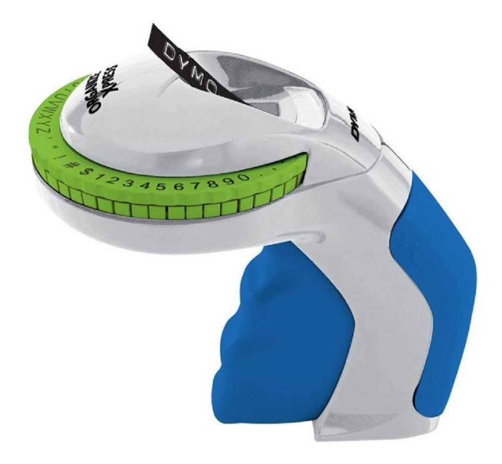 Rotulador Manual Dymo Organizer Branco/Azul Ref. 12965
