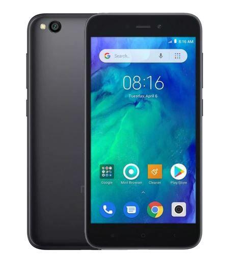 Smartphone Xiaomi Redmi Go 8GB 4G Dual Sim Tela 5EQUOT Cameras 8MP e 5MP Preto