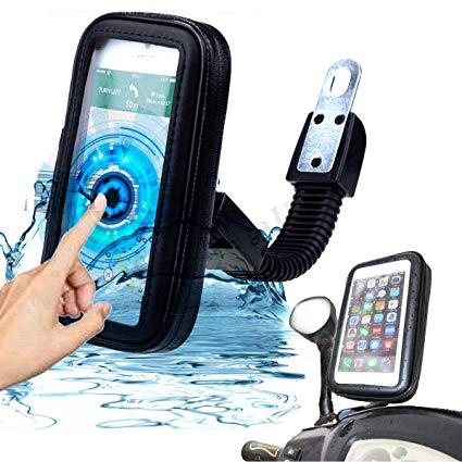 Suporte De Celular Para Moto Bike Prova d'agua Tomate MTG-016A