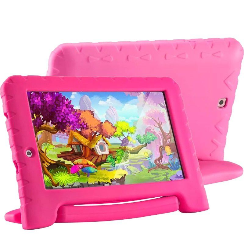 9081f41026 Tablet Kid Pad Plus Infantil Rosa 7 Polegadas Quad Core Multilaser NB279