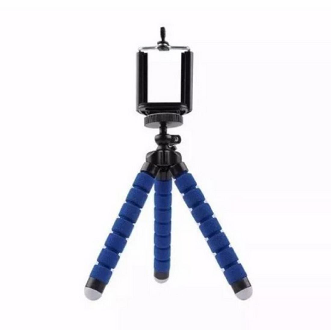 Tripé Celular Portátil Mini Suporte Flexível Universal 18cm