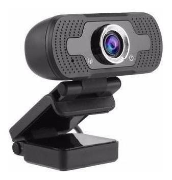 Webcam Câmera Com Microfone Hd 1080p 2.0mp Usb 2.0
