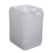 Bombona plástica com alça e tampa fixa Natural 20 litros - 2 Unidades