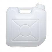 Bombona plástica natural com tampa fixa 10 litros - 2 Unidades