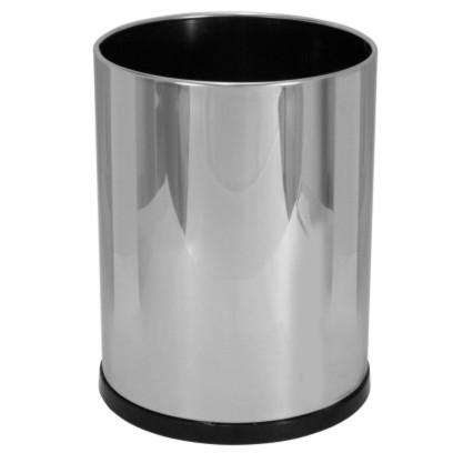 Cesto de lixo em aço inox 13 litros