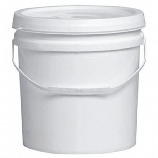 Balde plástico com tampa lacrável e alça plástica 12 litros - 10 Unidades