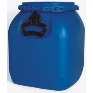 Bombona plástica com tampa removível 30 litros