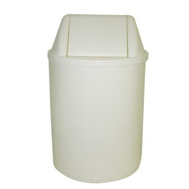 Cesto de Lixo Redondo 13 litros  com tampa vai e vem