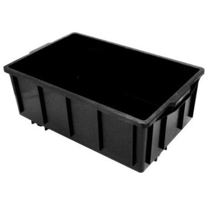 Caixa plástica com tampa 39,5 litros