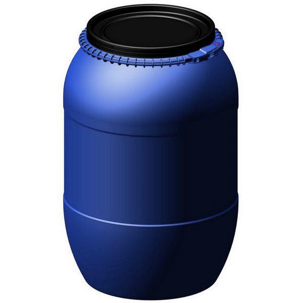 Bombona plástica com tampa removível 200 litros