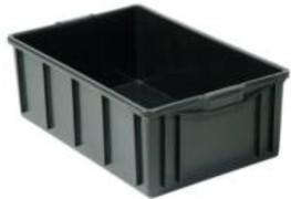 Caixa plástica  com tampa 26 litros