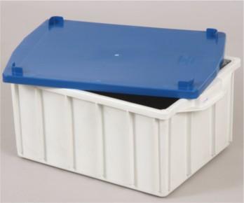 Caixa plástica Marfinite 1019 com tampa 38L