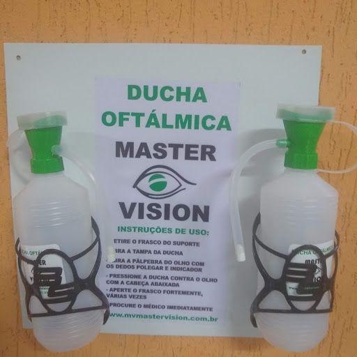 Ducha Lava Olhos de Emergência Master Vision 500ml (Ducha Oftálmica)  - 2 Unidades