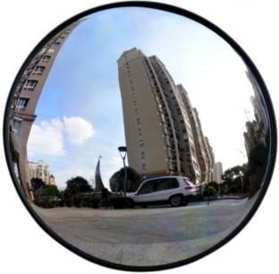 Espelho Convexo em alumínio 50cm