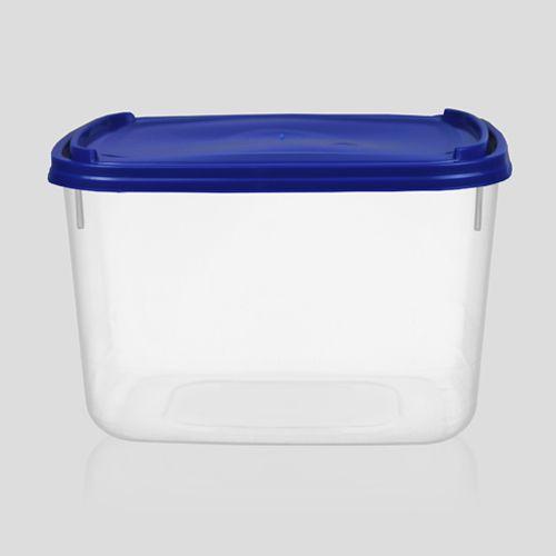Pote plástico de açaí e sorvete 2 litros com tampa - Caixa com 152 unidades