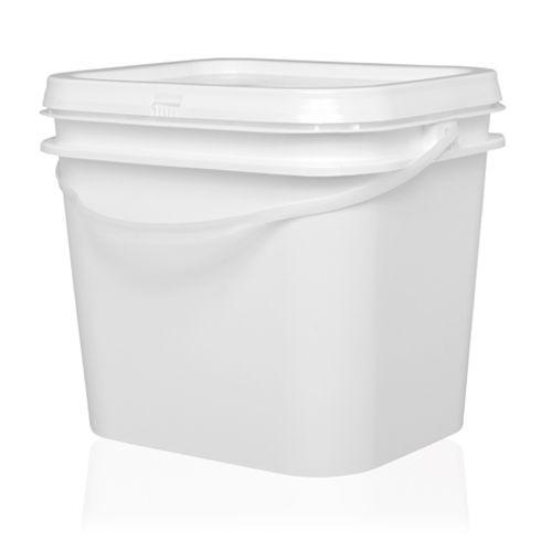 Pote plástico de açaí e sorvete 3,6 litros com tampa - Pacote 30 unidades