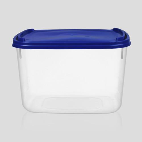 Pote plástico de sorvete com tampa 2 litros - Pacote com 50 unidades