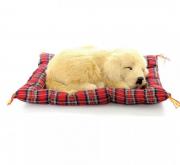 Animais para decoração dormindo 20cm Golden Retriever MP03050