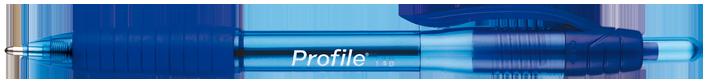 CANETA PAPERMATE PROFILE AZUL X12