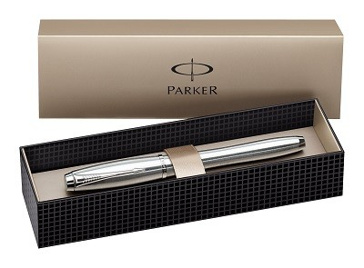 CANETA ROLLER BALL PARKER URBAN FASHION PRATA CT G88465