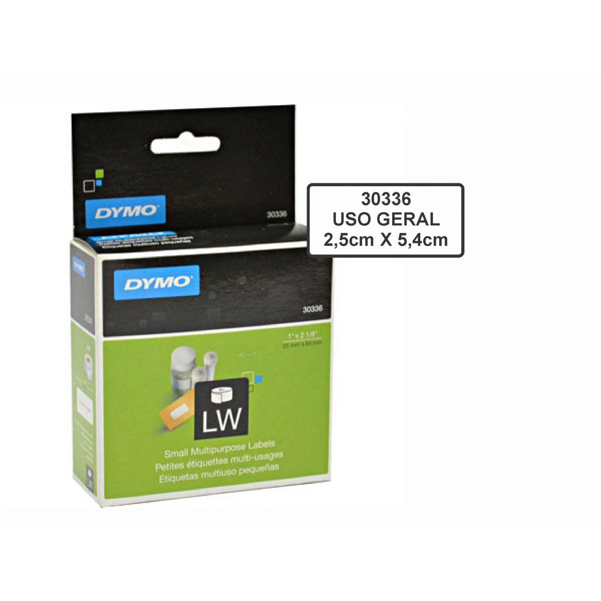 Etiqueta p/ impres.térmica 2,5x5,4cm (rl c/500un)