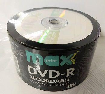 100 DVD-R MAXIPRINT 4.7GB 16X LOGO