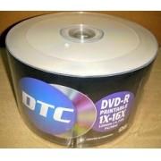100 DVD-R DTC 16X  PRINTABLE