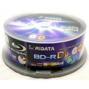 25 BLURAY RIDATA 50GB PRINTABLE 6X