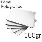 1000 PAPEL FOTO 180  GR. COM BRILHO A4
