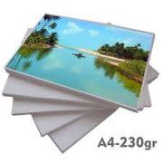 1000 PAPEL FOTO 230 GR. COM BRILHO A4