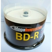 50 BLURAY 25GB MEGAINNOVATION 6X PRINT.